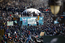Super Bowl Parade Eagles Football