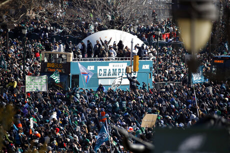 Super Bowl Parade Eagles Football