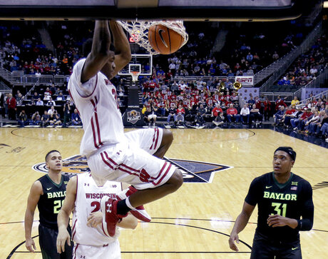 Wisconsin Baylor Basketball