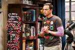 This photo provided by CBS shows Jim Parsons in a scene from the series finale of