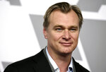 FILE - This Feb. 5, 2018 file photo shows director Christopher Nolan at the 90th Academy Awards Nominees Luncheon in Beverly Hills, Calif.   Nolan's film