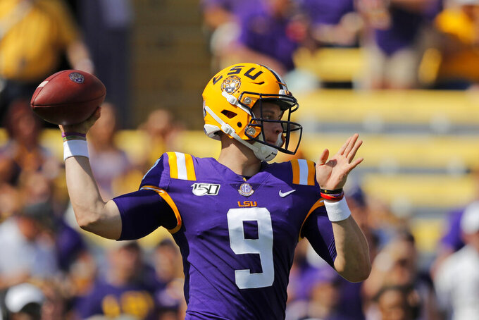 Florida-LSU headlines weekend full of high-profile matchups