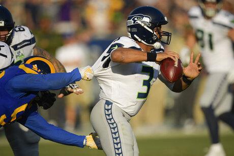 Seahawks Rams Football