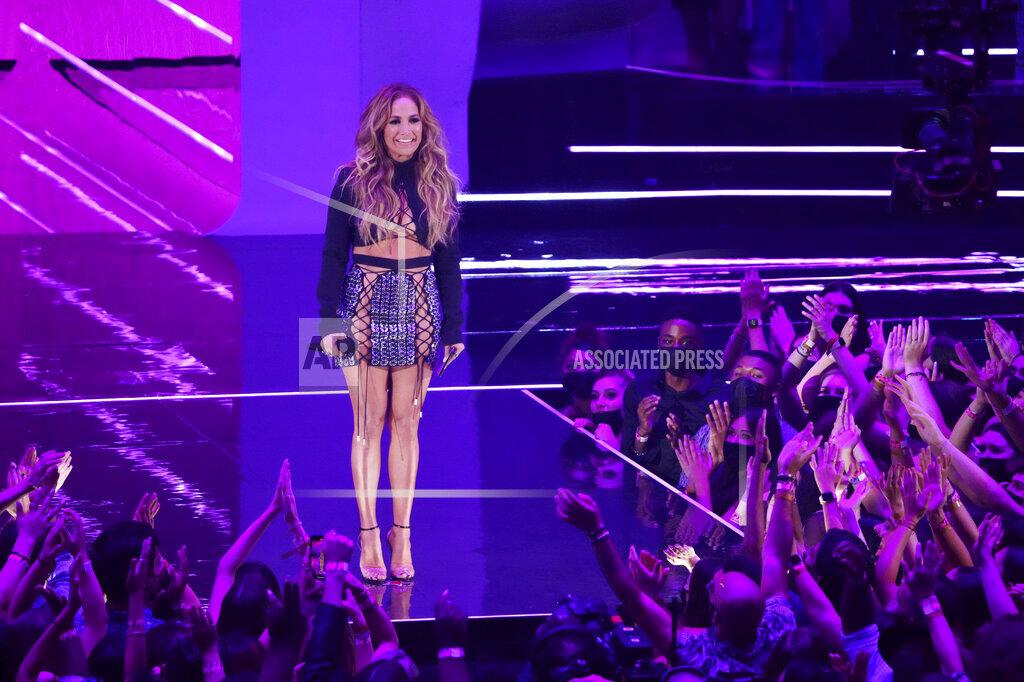 APTOPIX 2021 MTV Video Music Awards - Show