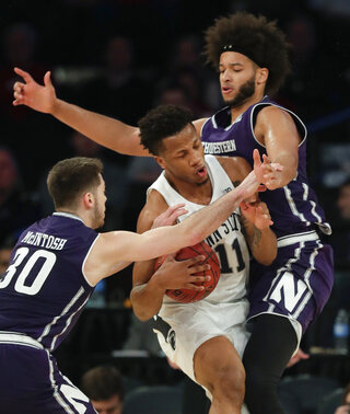 B10 Northwestern Penn St Basketball