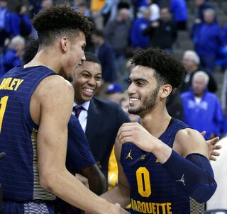 Markus Howard, Brendan Bailey