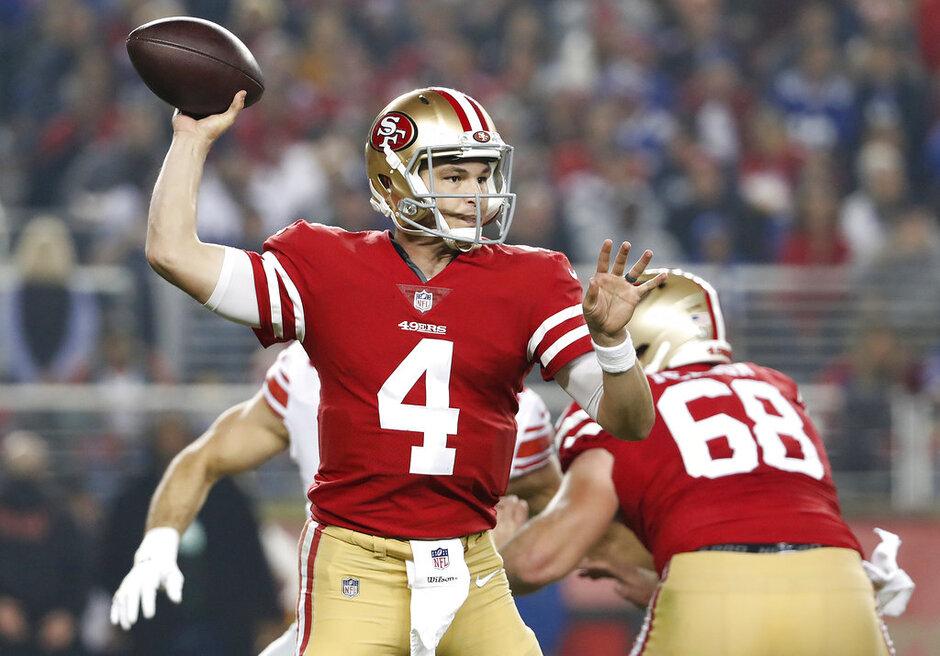 Giants 49ers Football