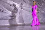 The Naeem Khan collection is modeled during Fashion Week, Tuesday, Sept. 10, 2019, in New York. (AP Photo/Mary Altaffer)