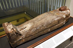The Cohen mummy at the new Johns Hopkins Archaeological Museum exhibit,