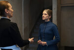 """This image released by Amazon Studios shows Mélanie Laurent, right, in a scene from """"The Mad Women's Ball."""" (Amazon Studios via AP)"""