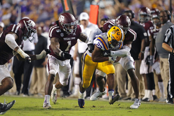 LSU's Burrow, Auburn's Brown named AP SEC players of year