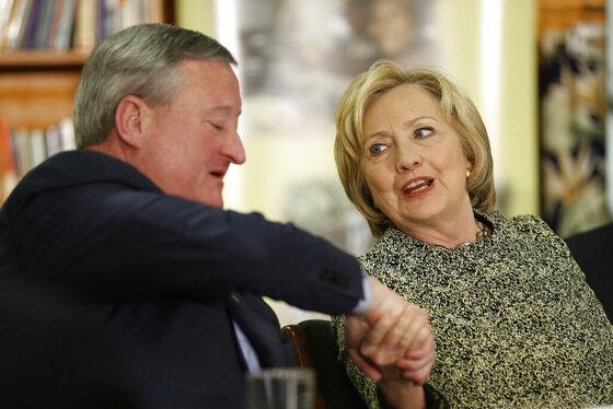 Hillary Clinton, Jim Kenney