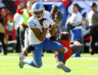 Lions Jones Football