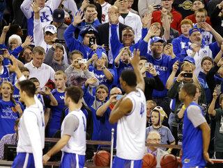 NCAA Kentucky Final Four Basketball