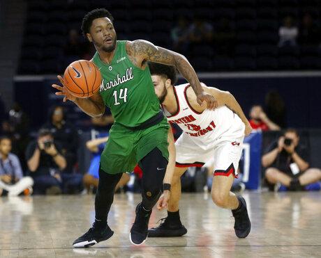 CUSA Marshall Western Kentucky Basketball