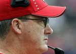 Wisconsin head coach Paul Chryst watches his team during the second half of an NCAA college football game against Northwestern in Evanston, Ill., Saturday, Oct. 27, 2018. (AP Photo/Nam Y. Huh)