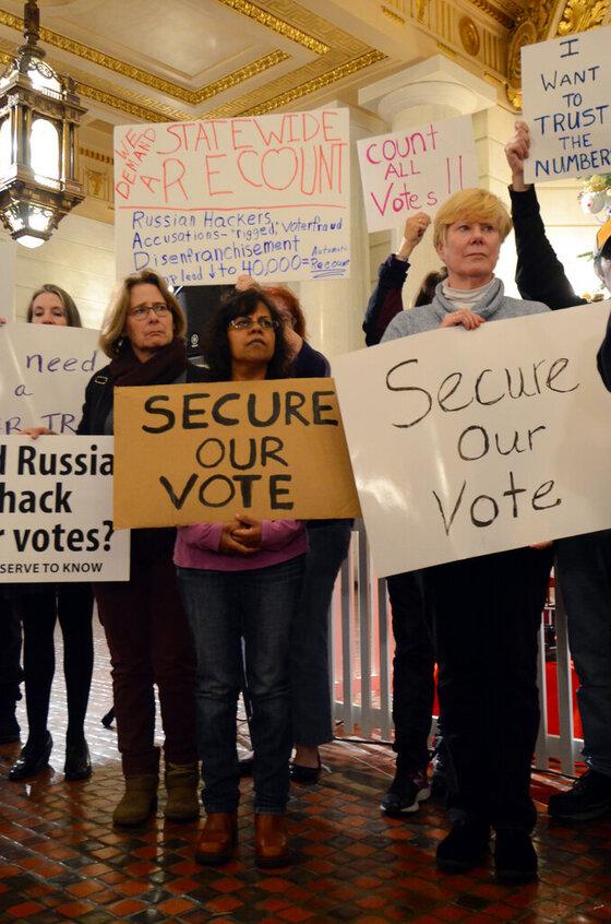 Election Recount Push Pennsylvania