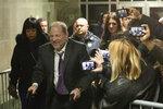 Harvey Weinstein leaves his trial, Monday, Feb. 10, 2020 in New York. (AP Photo/Mark Lennihan)