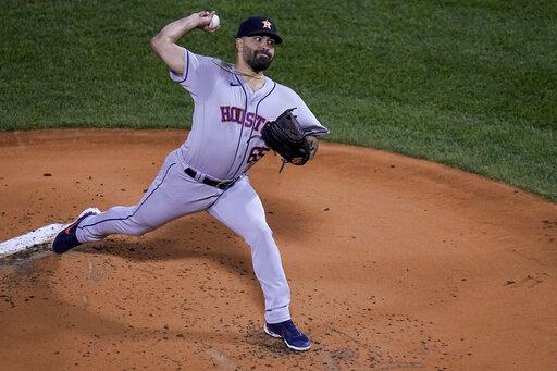 ALCS Astros Red Sox Baseball