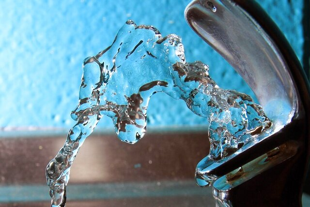 FILE - In this Friday Jan. 7, 2011, file photo, water flows from a water fountain at the Boys and Girls Club in Concord, N.H. The New Hampshire Senate gave preliminary approval Thursday, Feb. 13, 2020, to several bills meant to address concerns about contamination in the state's drinking water from a class of toxic chemicals known collectively as PFAS. (AP Photo/Jim Cole, File)