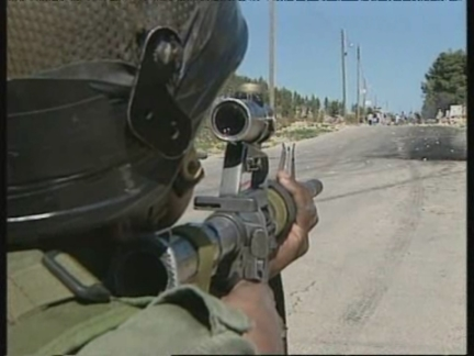 WEST BANK: 3 PALESTINIANS SHOT BY ISRAELI SOLDIERS ARE BURIED (2)