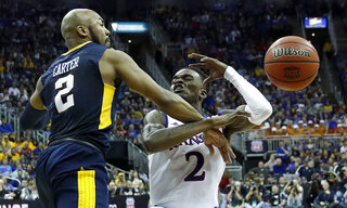 B12 West Virginia Kansas Basketball