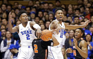 Princeton Duke Basketball