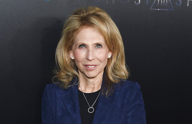 FILE- In this March 29, 2017, file photo, Shari Redstone attends the premiere of