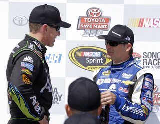 Carl Edwards, Jeff Gordon