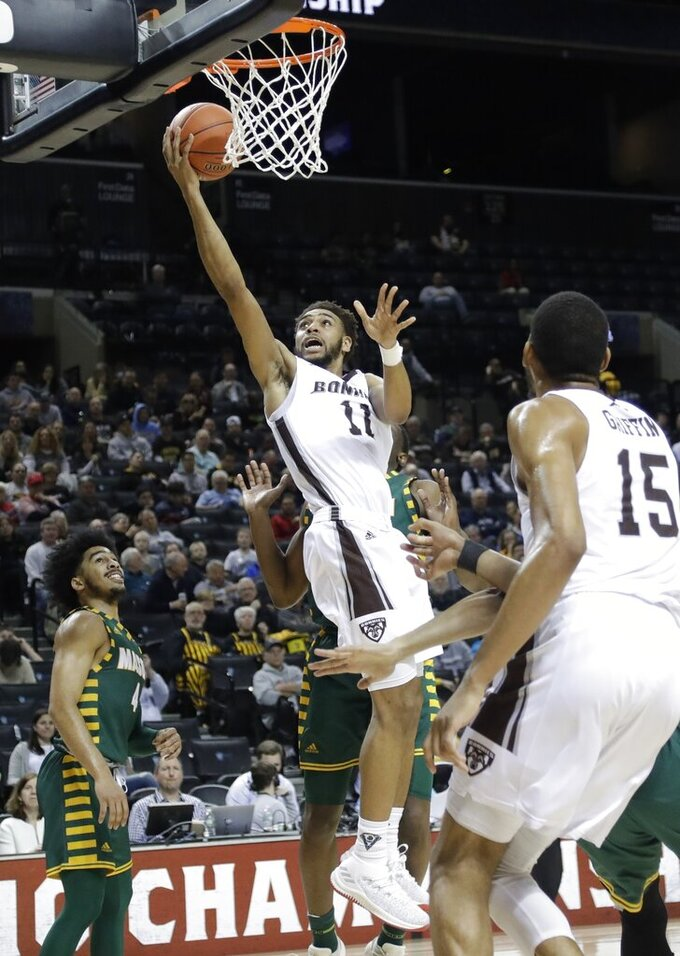 Bonnies top George Mason behind Welch's career high 20