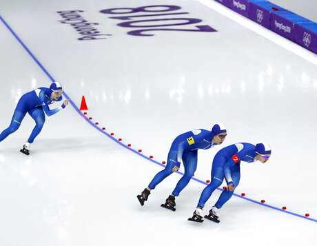 APTOPIX Pyeongchang Olympics Speed Skating Women South Korea Skating Dispute