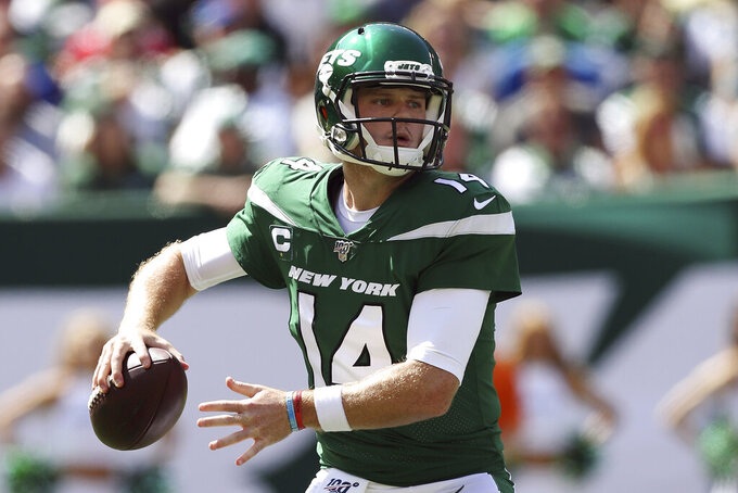 Jets' Darnold focused on making sure 'I'm not going to die'