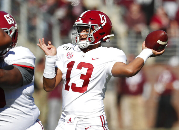 Heisman chase and playoff race cross paths in champ weekend