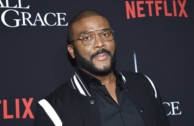 Writer-director-actor Tyler Perry attends the premiere of Tyler Perry's