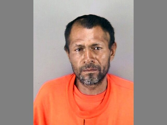 "FILE - This undated file booking photo provided by the San Francisco Police Department shows Jose Inez Garcia-Zarate.  A federal judge in San Francisco is mulling the competency to stand trial of Garcia-Zarate, a Mexican man who shot and killed 32-year-old Kate Steinle, a shooting that figured prominently in President Donald Trump's run for the White House four years ago.     The case against Jose Ines Garcia Zarate on federal gun charges has been pending since U.S. District Court Judge Vince Chhabria raised ""serious concerns"" about his mental capacities back in January, the San Francisco Examiner reported Friday, Oct. 16, 2020.    (San Francisco Police Department via AP, File)"