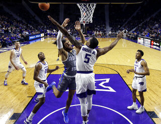 Georgia St Kansas St Basketball