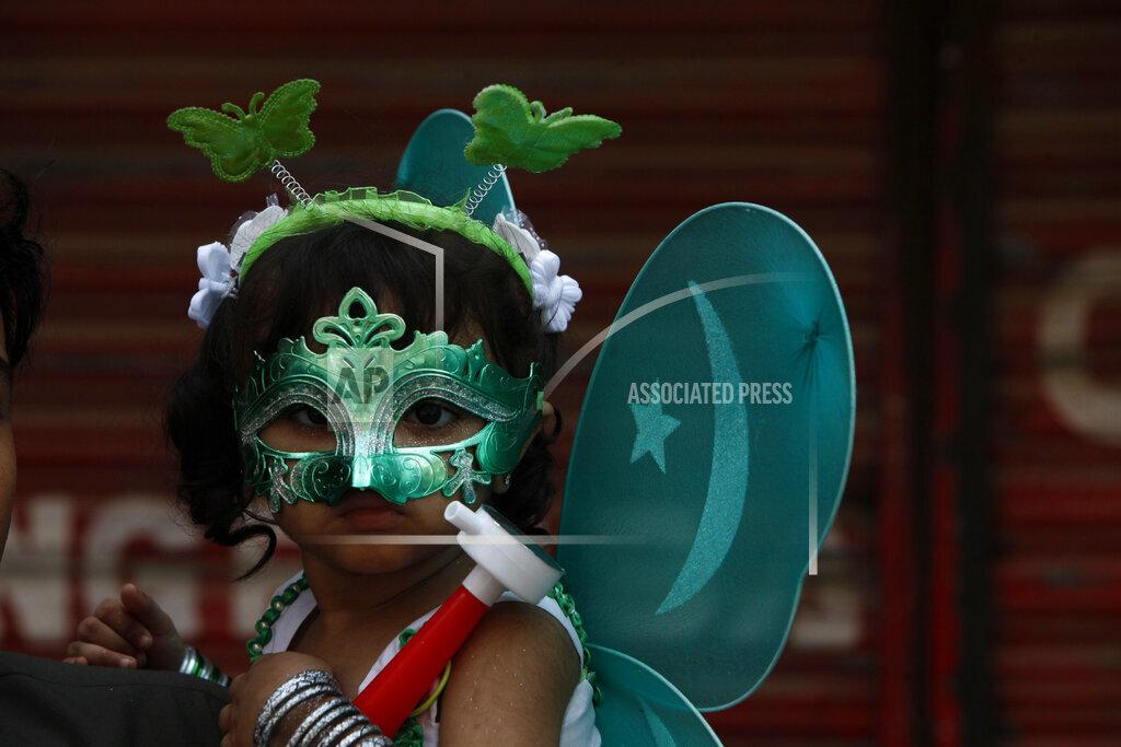 APTOPIX Pakistan Independence Day