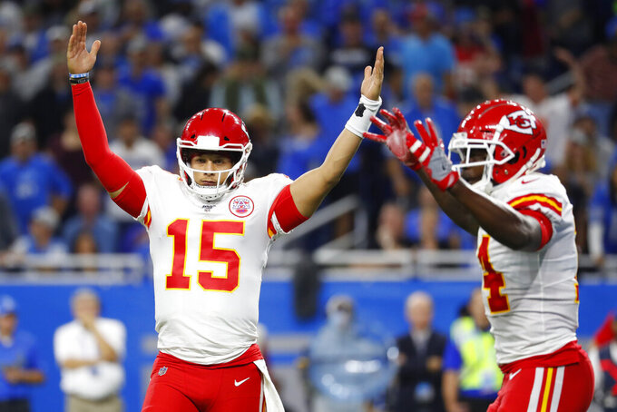 Chiefs quarterback Mahomes has plenty of fans within NFL