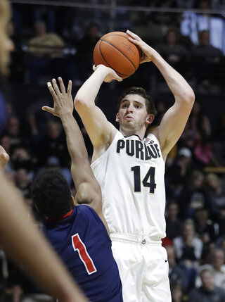 Robert Morris Purdue Basketball