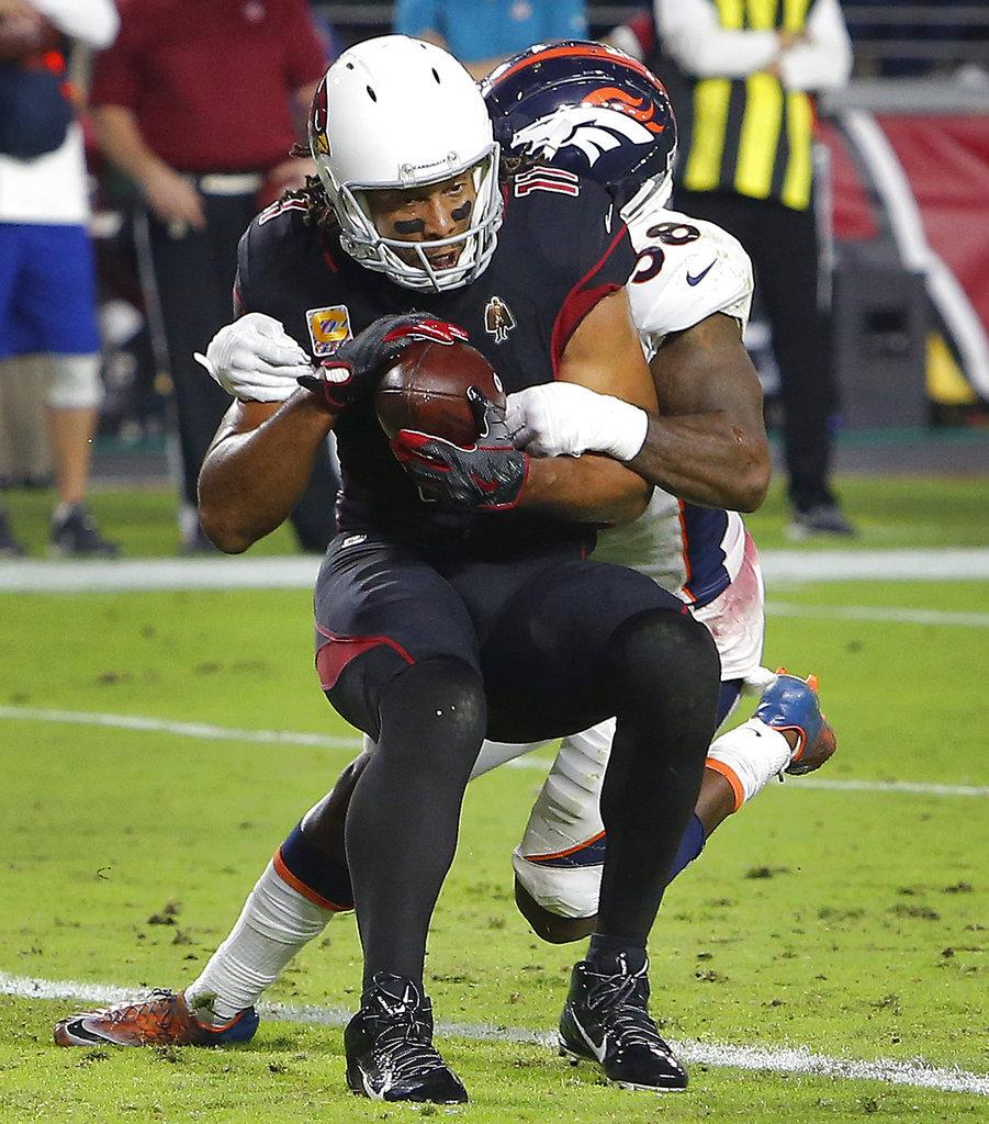 APTOPIX Broncos Cardinals Football