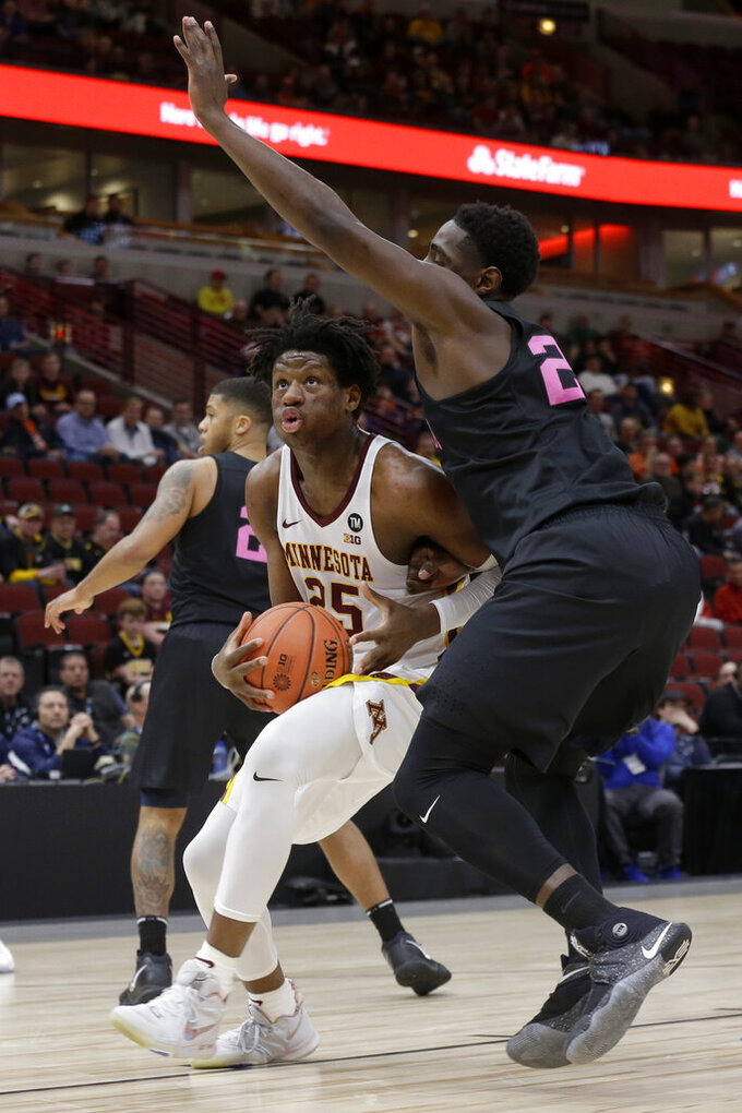 Coffey leads Minnesota over Penn State, 77-72 in overtime