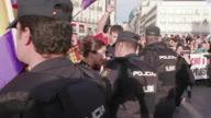 ++Spain Madrid Protest 2