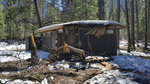 In this photo released Wednesday, March 13, 2019, by the National Park Service, is a damaged building after the recent heavy snowpack in Yosemite National Park, Calif. The park announced that there will be late seasonal openings to facilities due to the exceptionally heavy snowpack and the subsequent extensive damage to many park facilities.  (NPS Photo via AP)