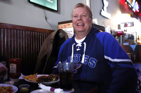 Super Bowl-St Louis Blues Football