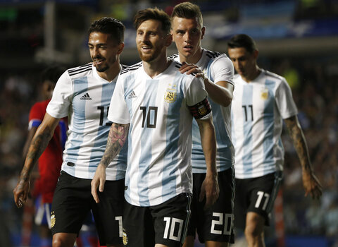 Soccer WCup Argentina