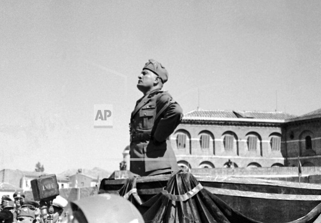 Watchf AP I   ITA APHSL53593 Italy Benito Mussolini
