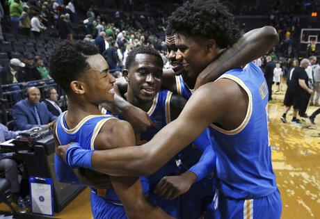 UCLA Oregon Basketball