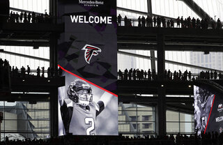 Falcons Stadium Fan Survey Football