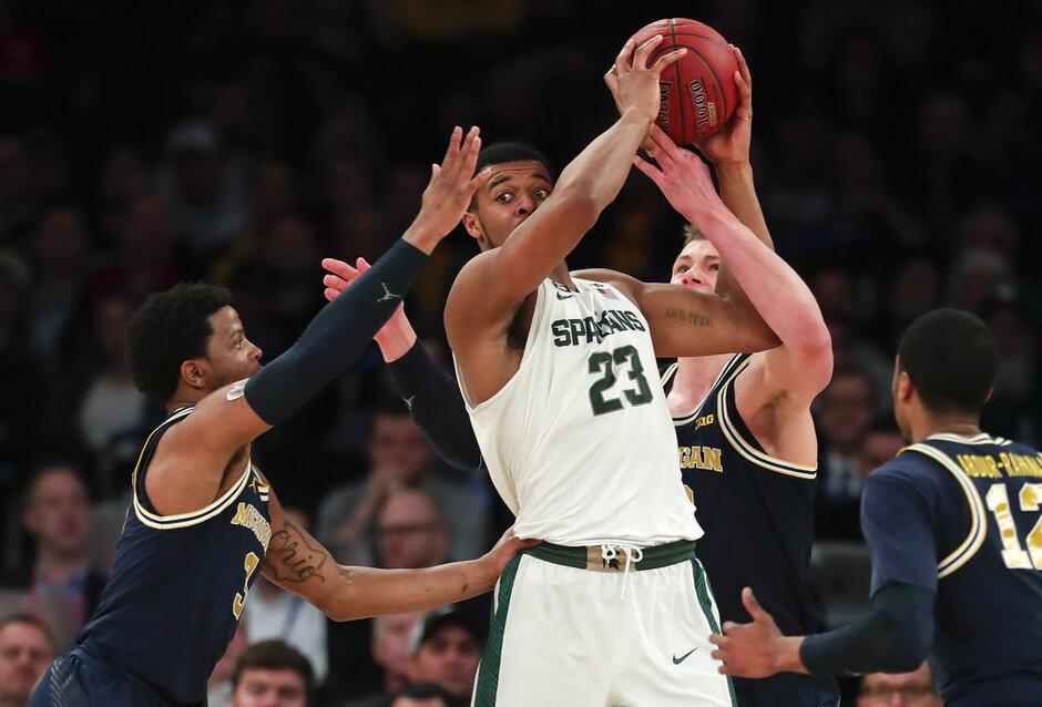 B10 Michigan Michigan St Basketball