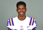 "This photo provided by LSU Athletics shows Andraez ""Greedy"" Williams. Williams is a possible pick in the 2019 NFL Draft. (Chris Parent/LSU Athletics via AP)"